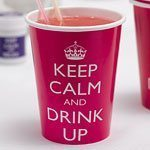Keep Calm & Drink Up Paper Plates, pack of 8