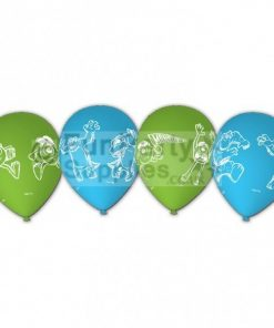 Monsters University Printed Latex balloons - pack of 6