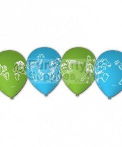 Monsters University Printed Latex balloons - pack of 6