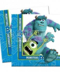 Monsters University Napkins - pack of 20