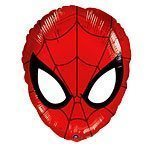 Spiderman Mask Foil Balloon - each