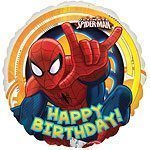 Spiderman Ultimate Happy Birthday Foil - each