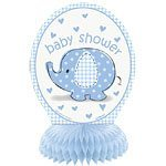 Blue Umbrellaphants Mini Honeycomb table decorations, pk 4