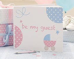 Tiny Feet Baby Shower Guest Book