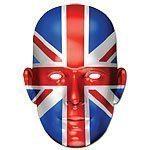 Union Jack Mask - each
