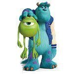 Monsters University Sulley & Mike Cardboard Cutout 179cm tall