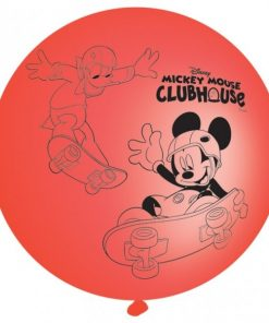 Playful Mickey Mouse Punch Balloons - pk 4