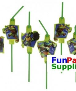 Ninja Turtle Party Straws