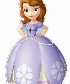 Sofia The First Lifesize Cardboard Cutout