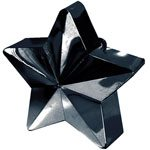 Black Star Shaped Balloon Weight