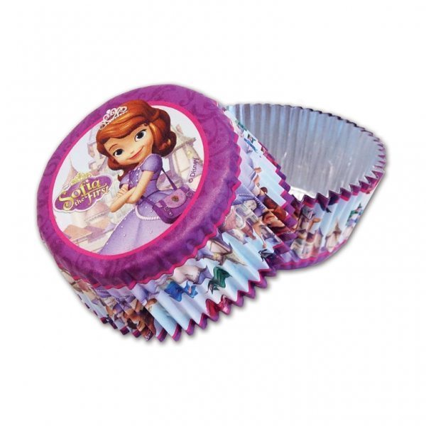 Sofia The First CupCake Cases Pk 24
