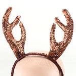 Christmas Reindeer Sequin Antlers