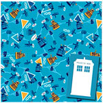 Doctor Who Party Wrapping Paper & Tags pk 2