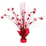 Valentines Heart Spray Centrepiece - 30cm