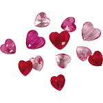 Valentines Confetti Heart Gems (23g)