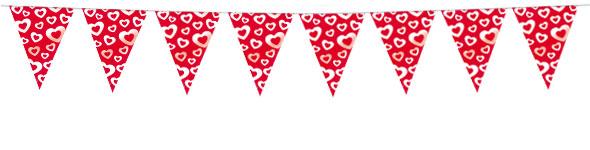 Valentines Flag Banner - 3.65m
