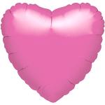 18'' Lavender  Heart Foil Balloon - each