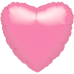 18'' Lavender  Heart Foil Balloon - each