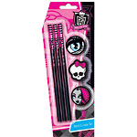 Monster High Party Stationery Pencil and Eraser Set