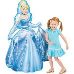 "Cinderella Airwalker Balloon 48"" Tall"