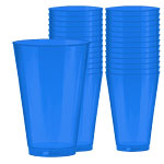 Bright Royal Blue Party Tumblers 414ml pk 36