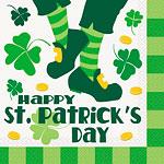 Happy St Patrick's Day Paper Napkins