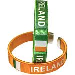 St. Patrick's Day Irish Fabric Bracelets pk 2