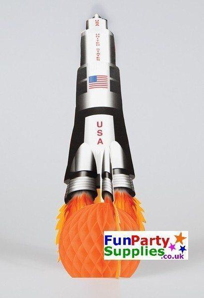 Space Blast Party Table Centrepiece Decoration 34cm x 13cm