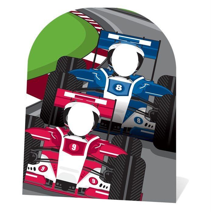 Grand Prix Racing Car Stand In