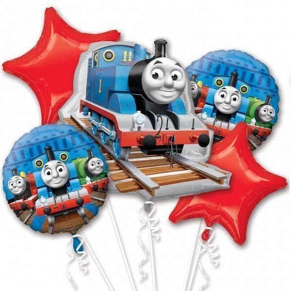 Thomas The Tank Engine Balloon Bouquet