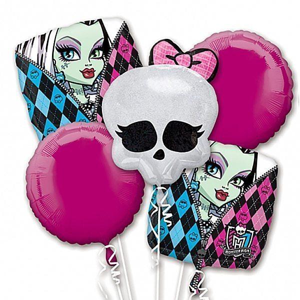 Monster High Balloon Bouquet