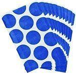 Blue Polka Dot Paper Bags Pk 10