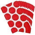Red Polka Dot Paper Bags Pk 10