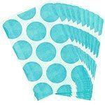 Robins Egg Blue Polka Dot Paper Bags Pk 10