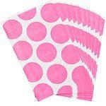 Pink Polka Dot Paper Bags Pk 10