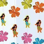Hula Girl String Decoration 2m