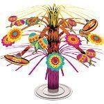 Mexican Fiesta Cascade Centrepiece 19cm