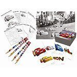 Disney Cars Neon Party Bag Fillers - Activity Pack Pk 4 - includes 4 Disney Cars Neon pencils & 4 Disney Cars Neon sticker boxes & 4 Disney Cars Neon activity booklets & 4 Disney Cars Neon sticker sheets