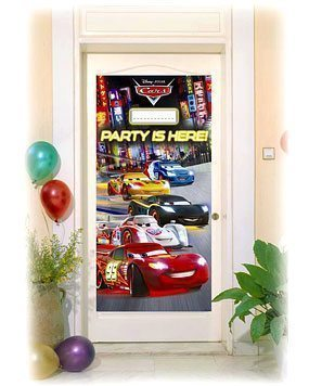 Disney Cars Neon Door Banner