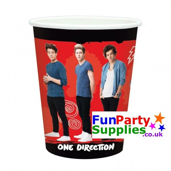 NEW One Direction Party Cups