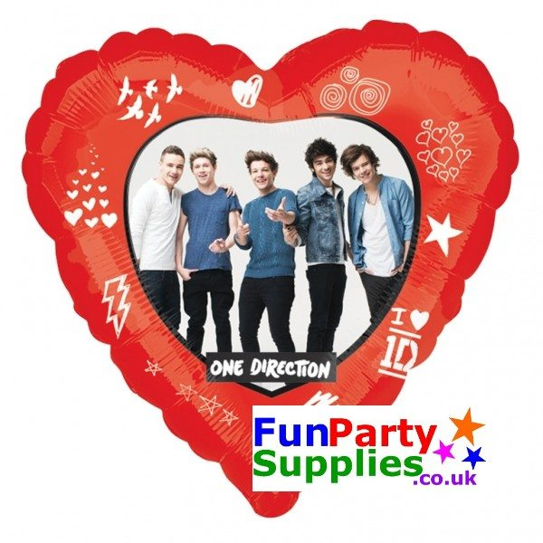 NEW One Direction helium balloon