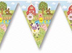 farm animal bunting