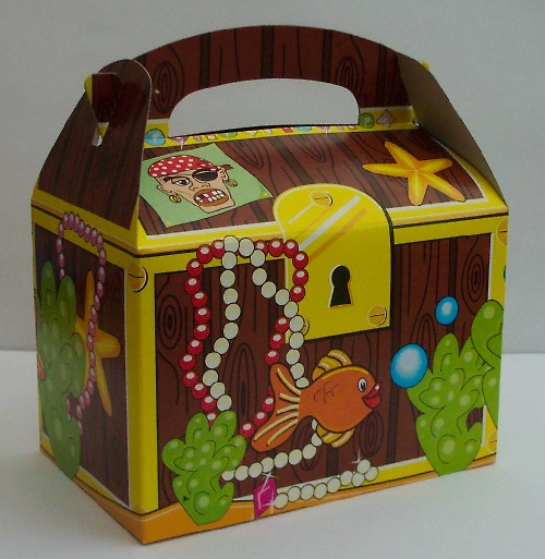 Pirate Treasure Party Box