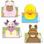 farm animal name cards