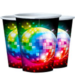 70s Disco Fever Cups - 266ml