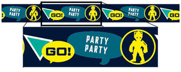 Doctor Who Party Foil Banner - 2m