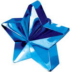 Blue Star Shaped Balloon Weight