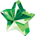 Green Star Shaped Balloon Weight