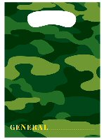 Army Camo Party Bags