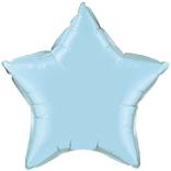 Pale Blue Star Balloon
